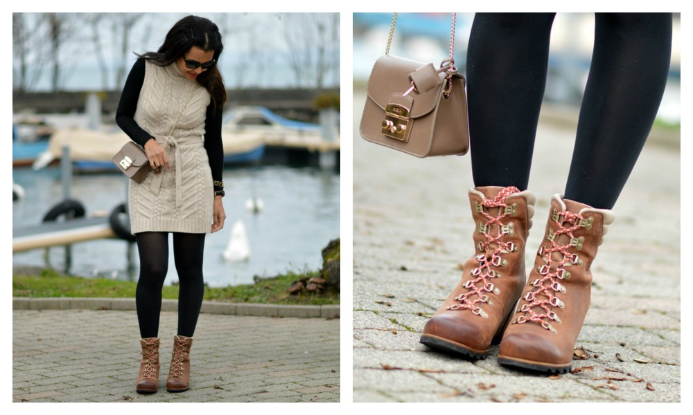 Sorel boots Conquest wedge/ currently wearing