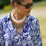 ART BASEL AND STATEMENT NECKLACE