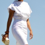 CRISP WHITE DRESS