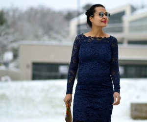 Lace dress/ Currently Wearing