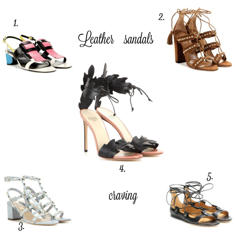 dreaming of leather sandals/ currently wearing