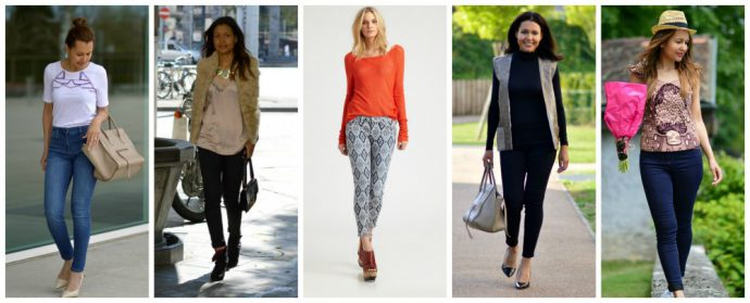 five ways to wear skinny jeans_currently wearing