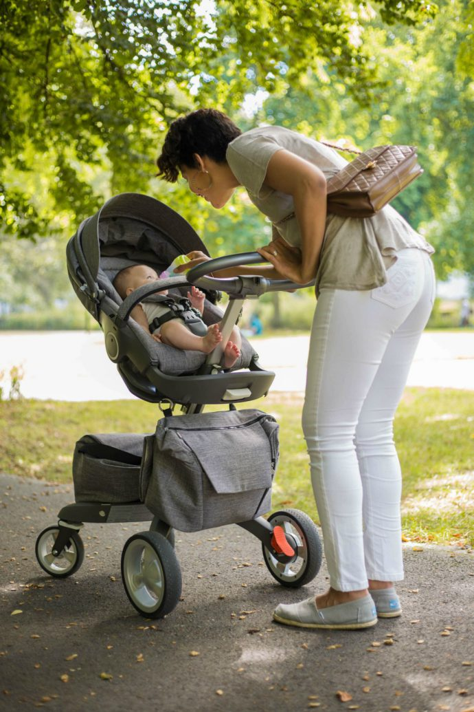 Stokke Xplory stroller /currently wearing
