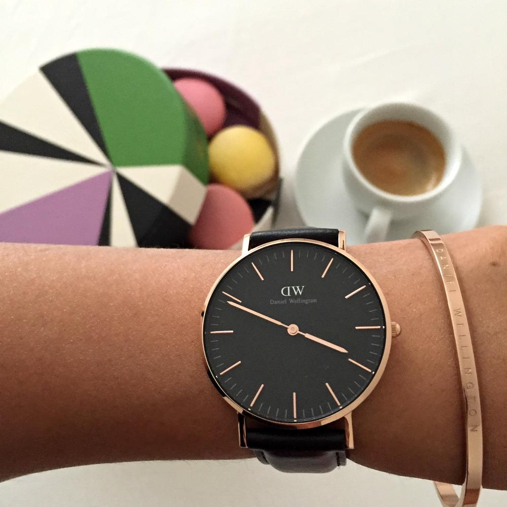 timepiece/classic cuff/ classic black/ daniel welington