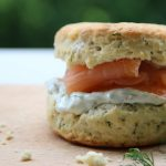 Easy and Decilicious Smoked Salmon & Dill Scones by Sofia Clara