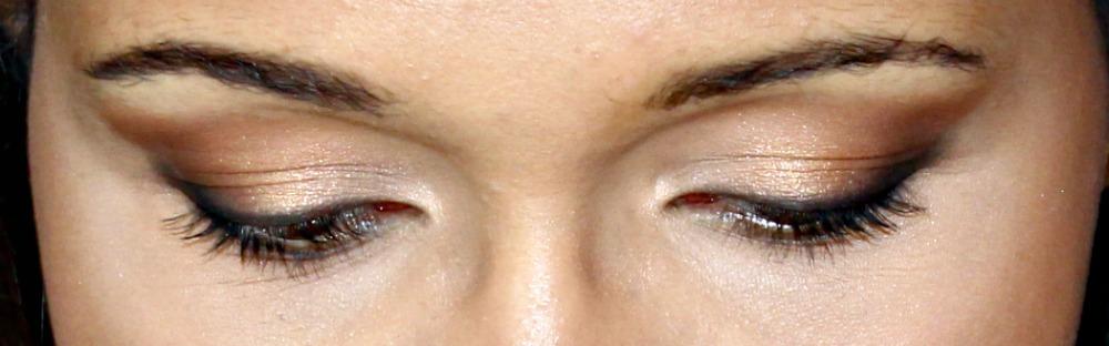 eye makeup detail