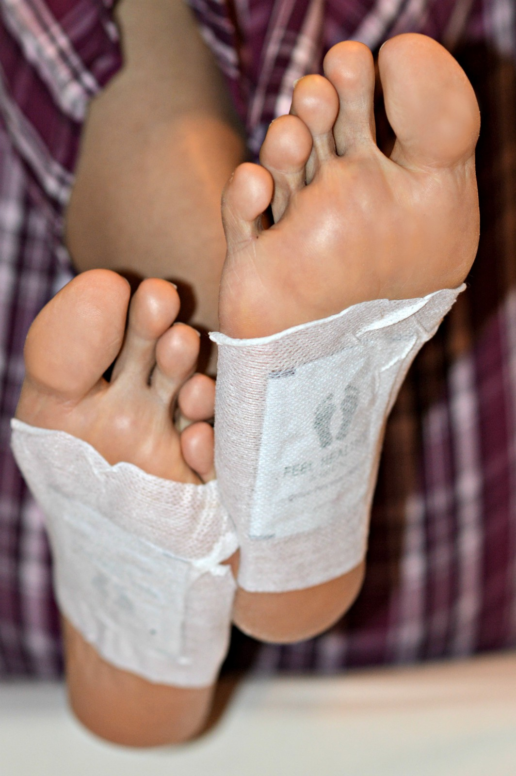 Stella Me foot Detox Pads/ currently wearing