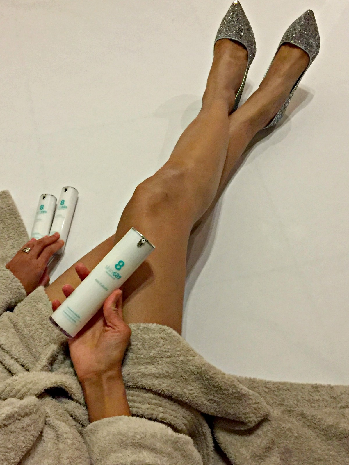 leg shot/ skin firming cream