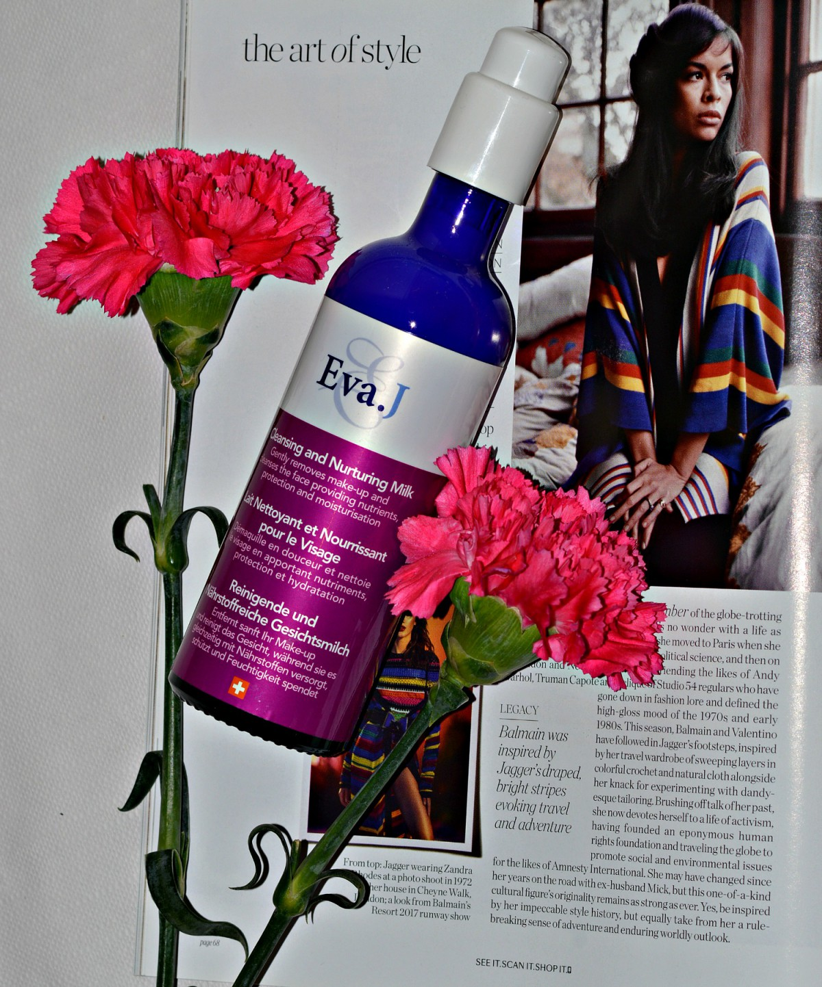 Eva.J cosmetics/cleansing and nurturing milk