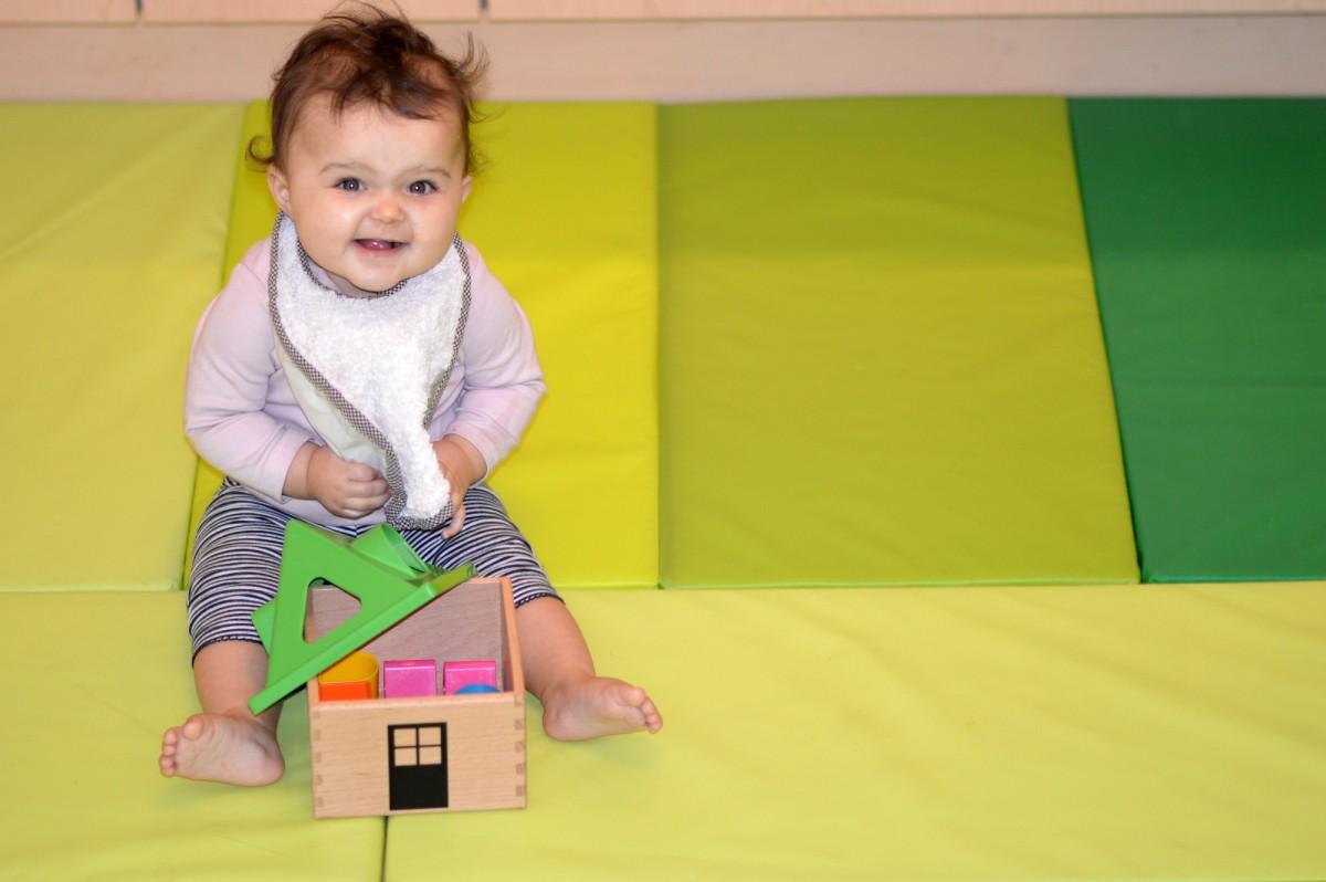 MULA Shape sorter IKEA / baby toys