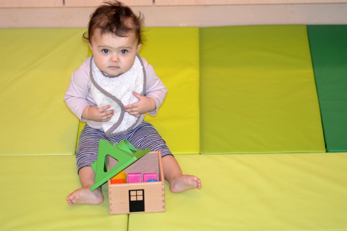 MULA Shape sorter/ IKEA foldable mat