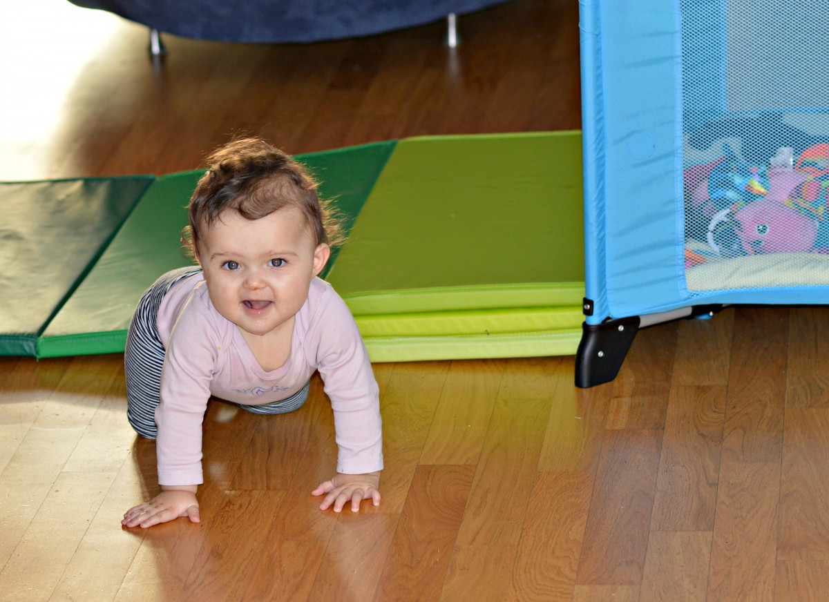 Plufsig Ikea Folding gym mat / safe playground