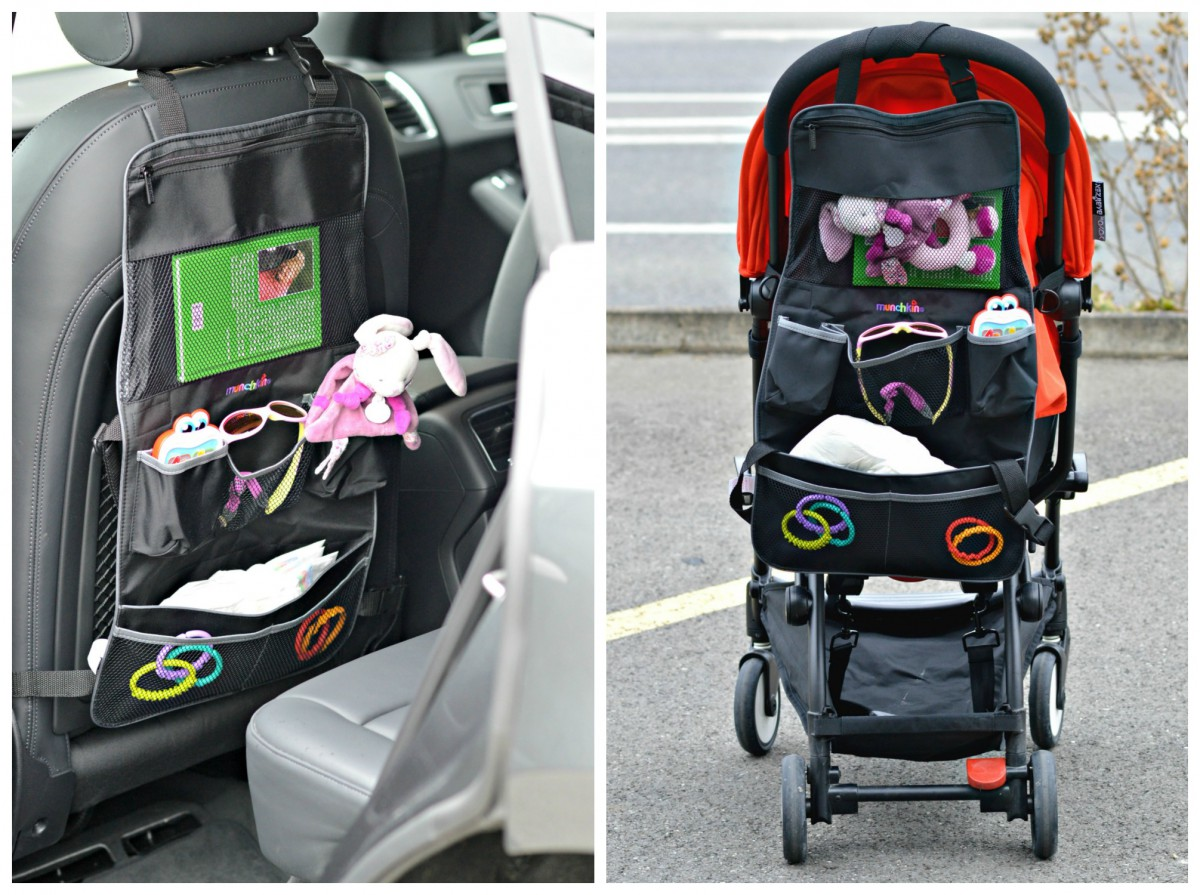 backseat and pushchair organiser_Munchkin / currently wearing