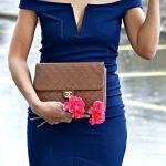 Blue Capsule Dress and Vintage Chanel Bag