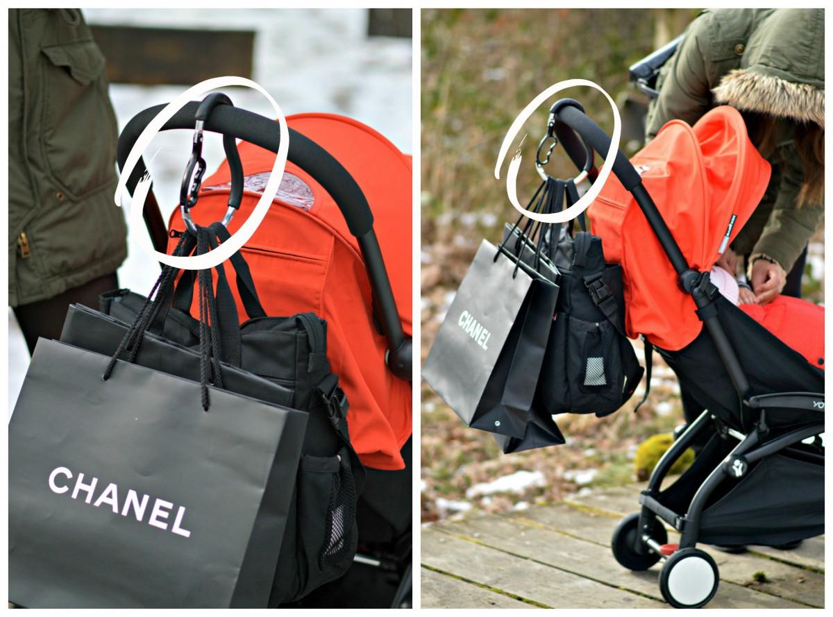 Munchkin bag holder
