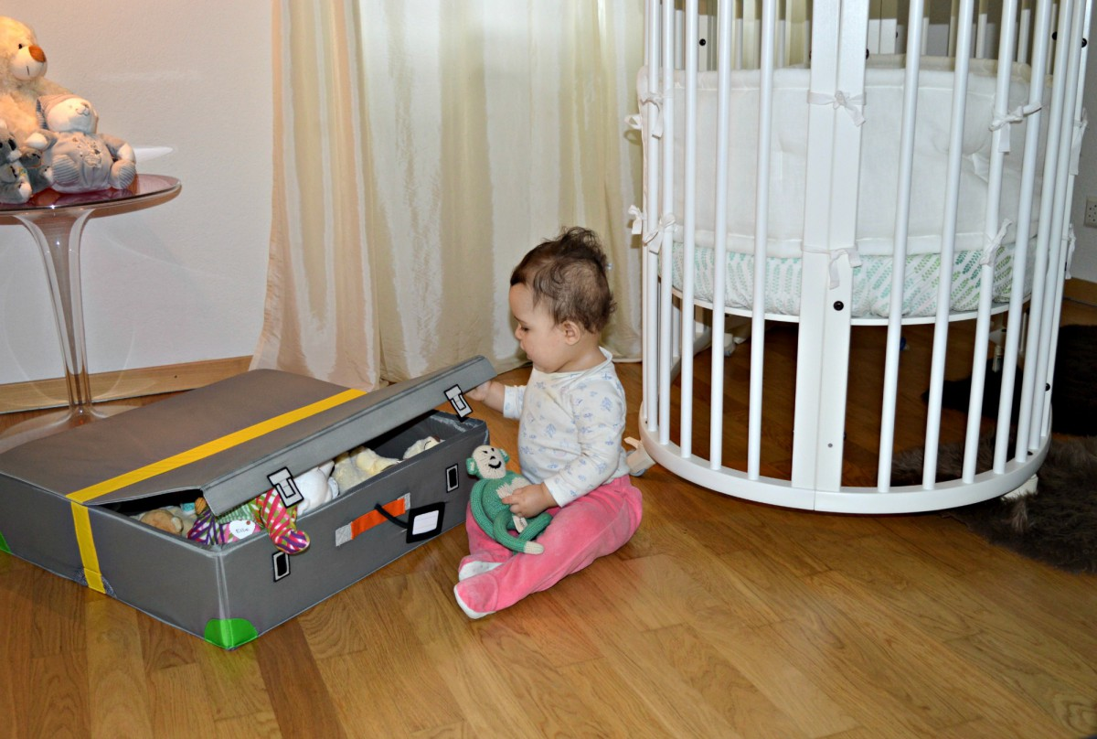 Stokke Sleepi Bed/ FLYTTBAR IKEA storage box