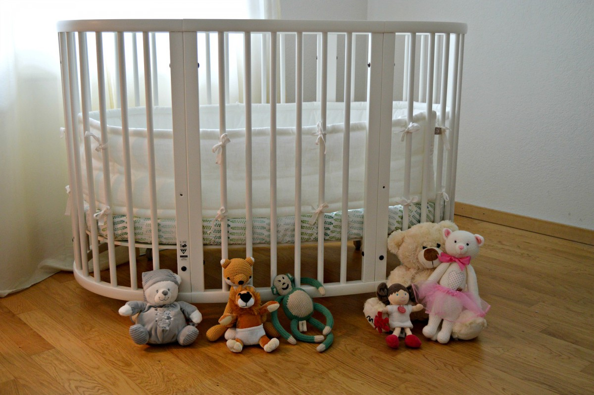 Stokke Sleepi Bed/higher low level