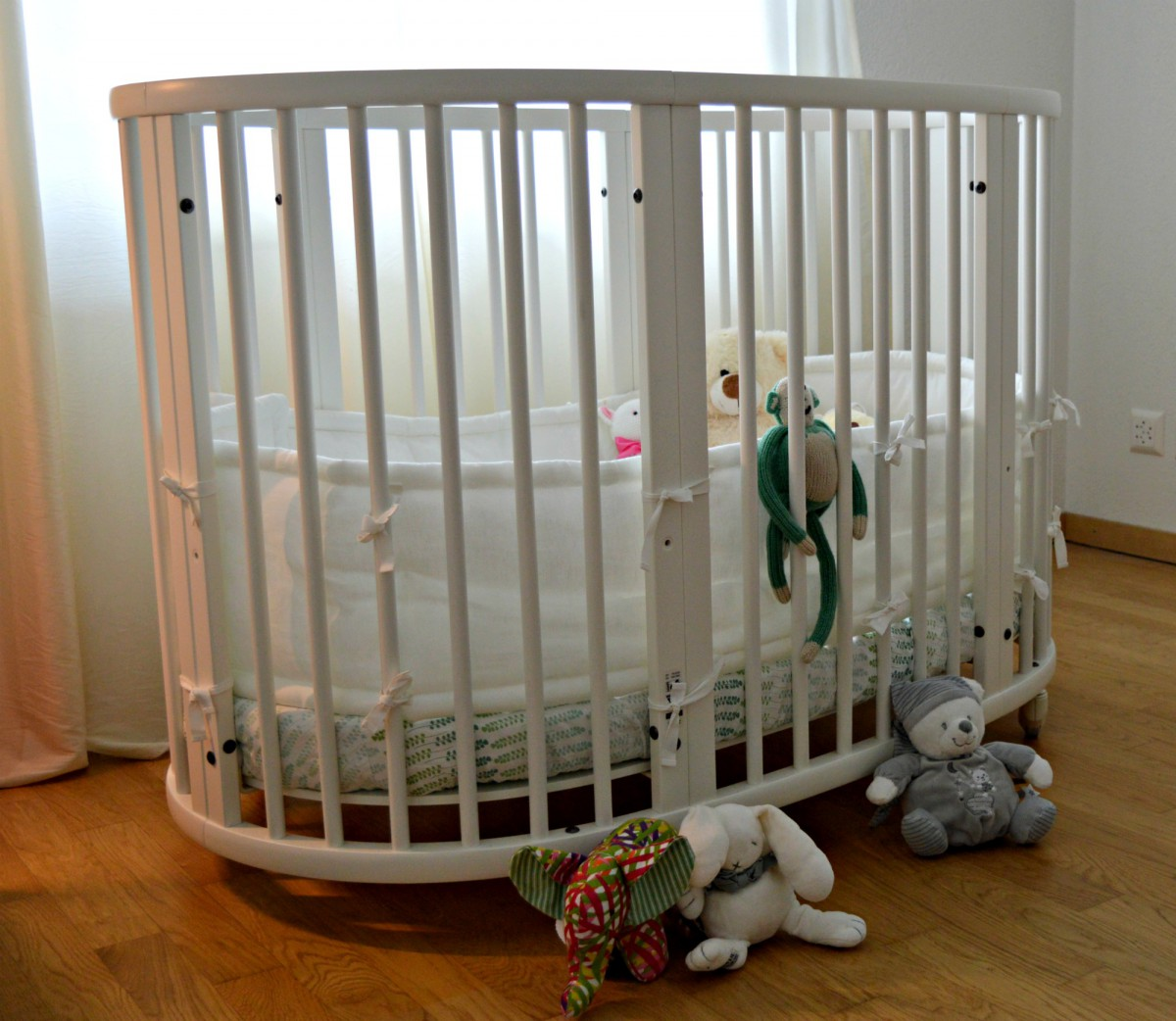 Stokke Sleepi Bed/currently wearing