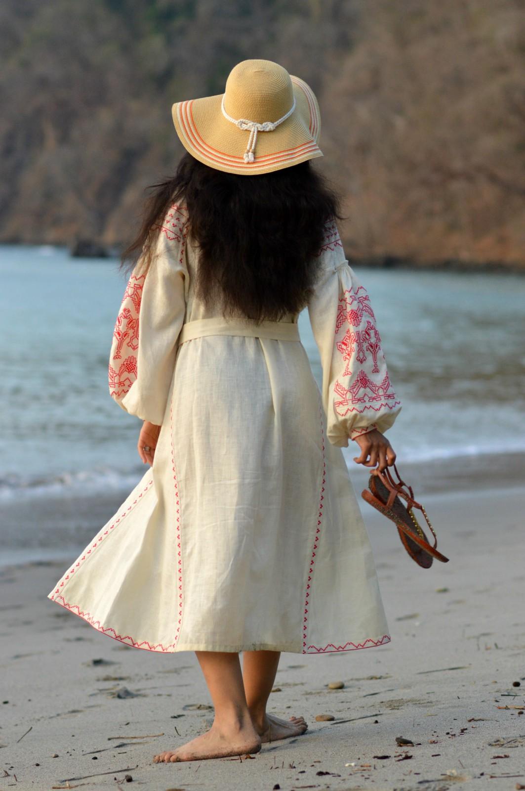 Sleeping Gypsy_ embroidered dress_vyshyvanka
