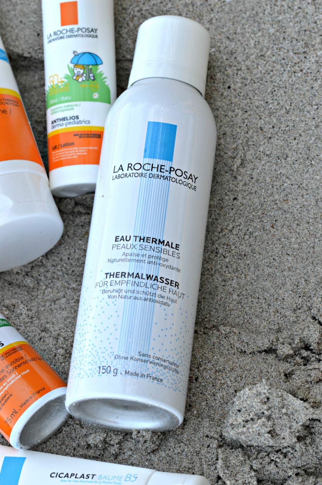 La Roche-Posay sunscreen_Eau Thermale_currently wearing_blog mode