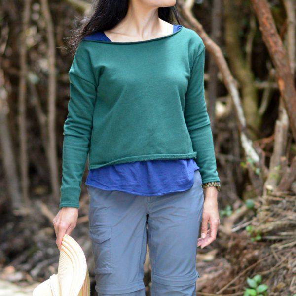 sweatshirt/ hiking pants/ Currently Wearing / Fashion Blog