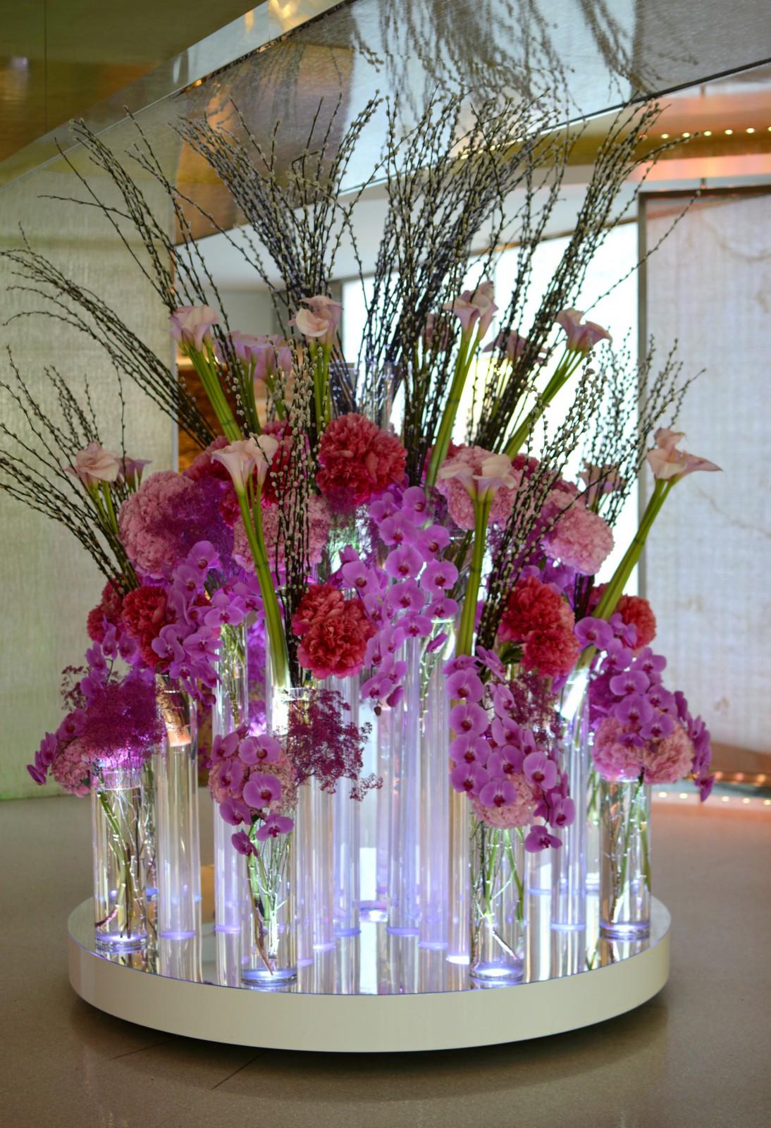hotel president wilson_flower arrangement