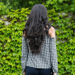 Skinny Jeans and Gingham Top