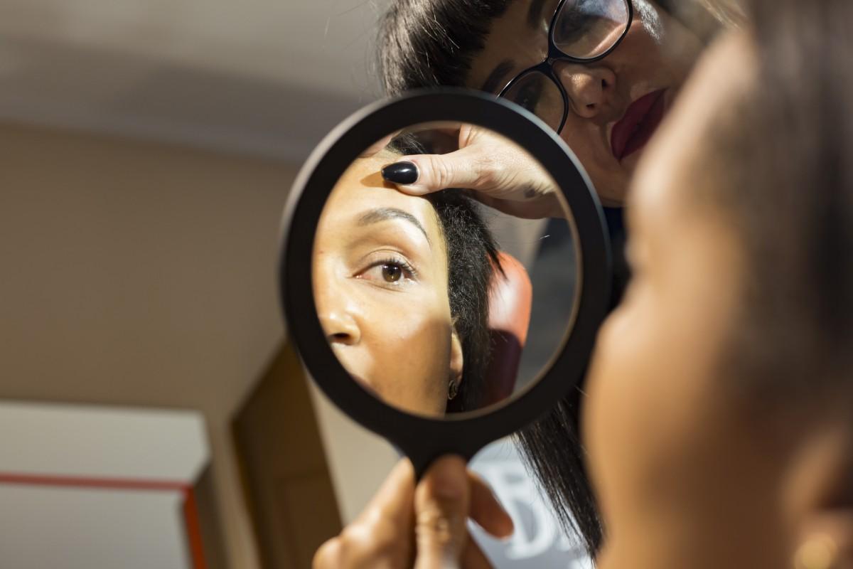 perfect brows/Tonya Crooks/The Brow Bar Geneva