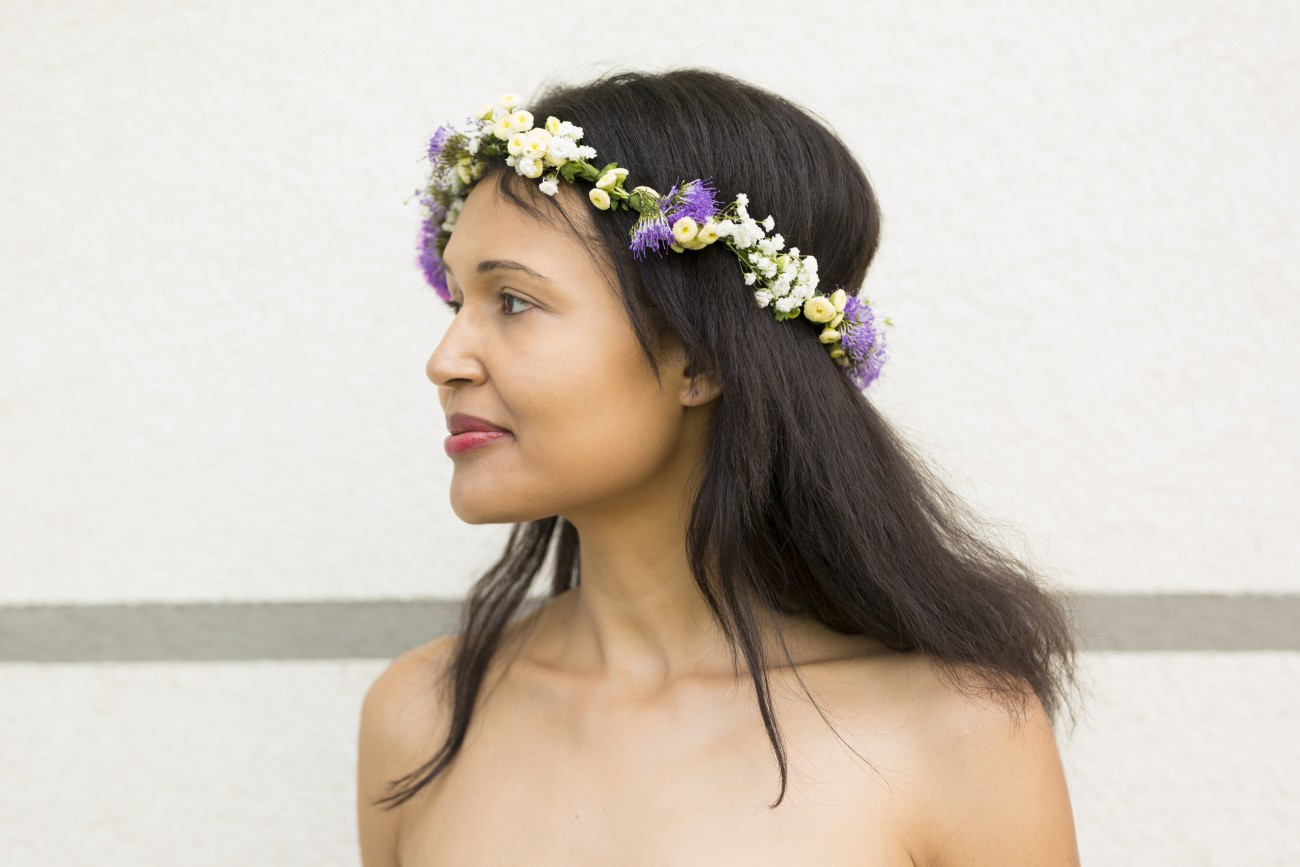 DIY flower crown/ currently wearing