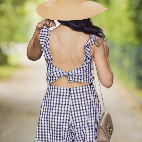 swiss fashion blog/backless romper