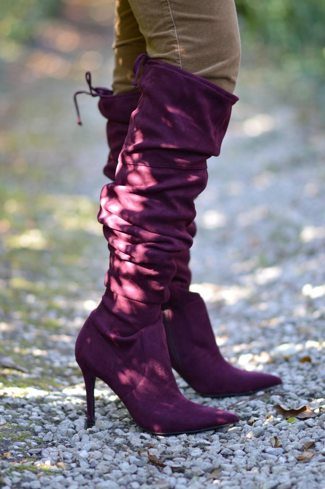over the knee heels/swiss blog