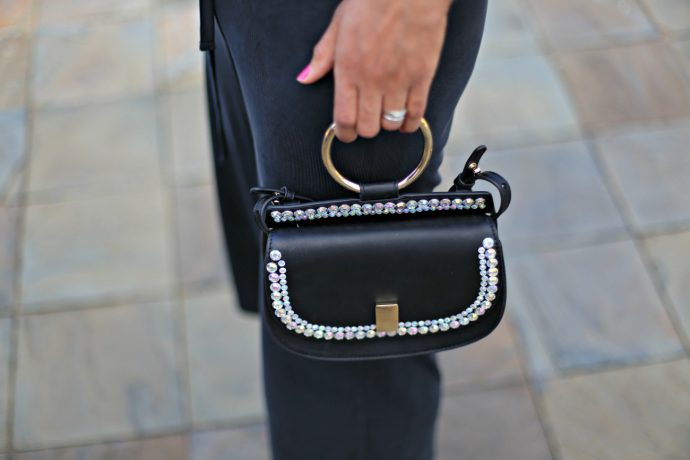 do it yourself_embellished bag_currently wearing