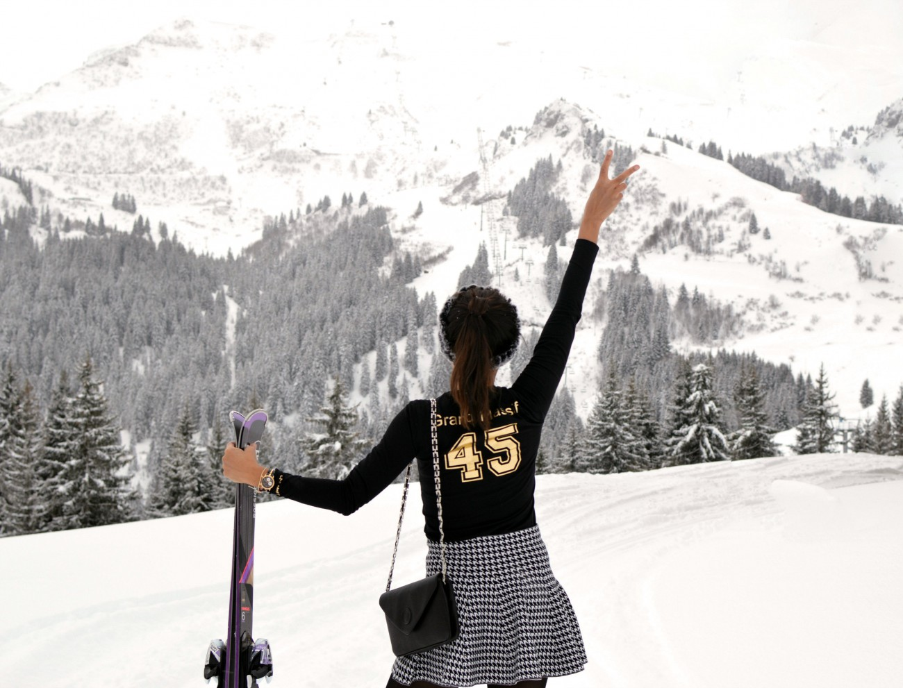 Club Med Grand Massif Samoëns Morillon/currently wearing