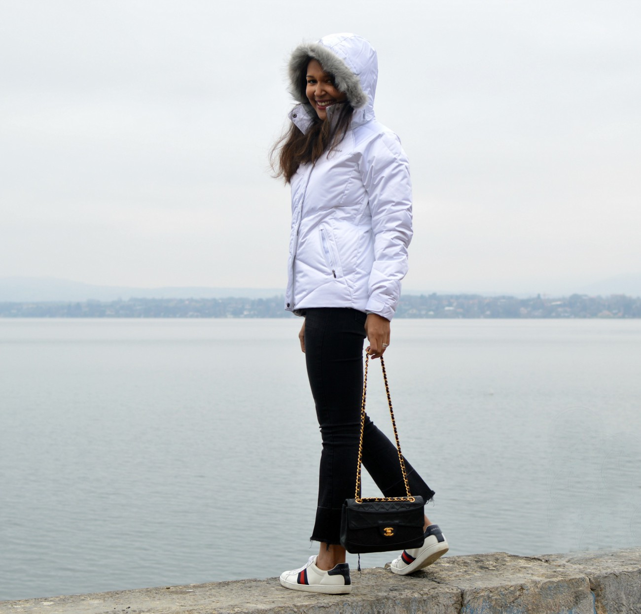 Columbia jacket/swiss fashion blog/currently wearing