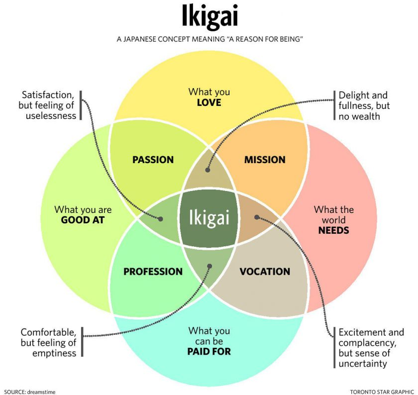 IKIGAI/ tips for success/ Leticia Martignon/currently wearing