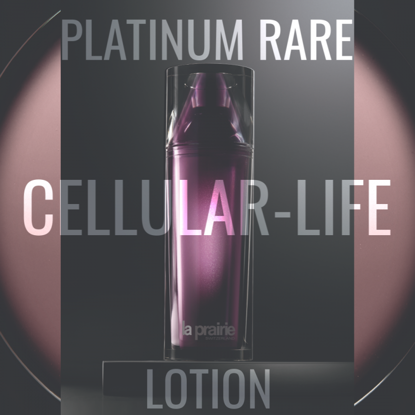 Haute-Rejuvenation/La Prairie/platinum rare cellular-life lotion/swiss blog currently wearing
