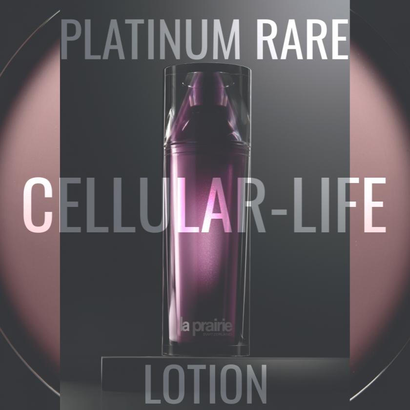 Haute-Rejuvenation/La Prairie/platinum rare cellular-life lotion/swiss blog currently wearing