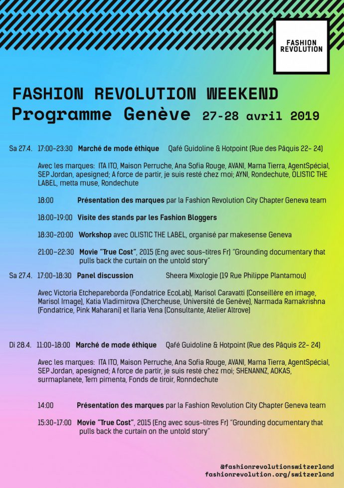 Fashion Revolution Week_haulternative_Fashion Revolution Switzerland 2019