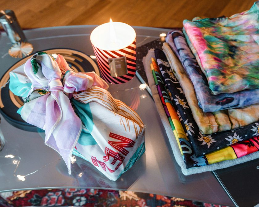 sustainable alternative to wrapping paper_furoshiki_miri ramp