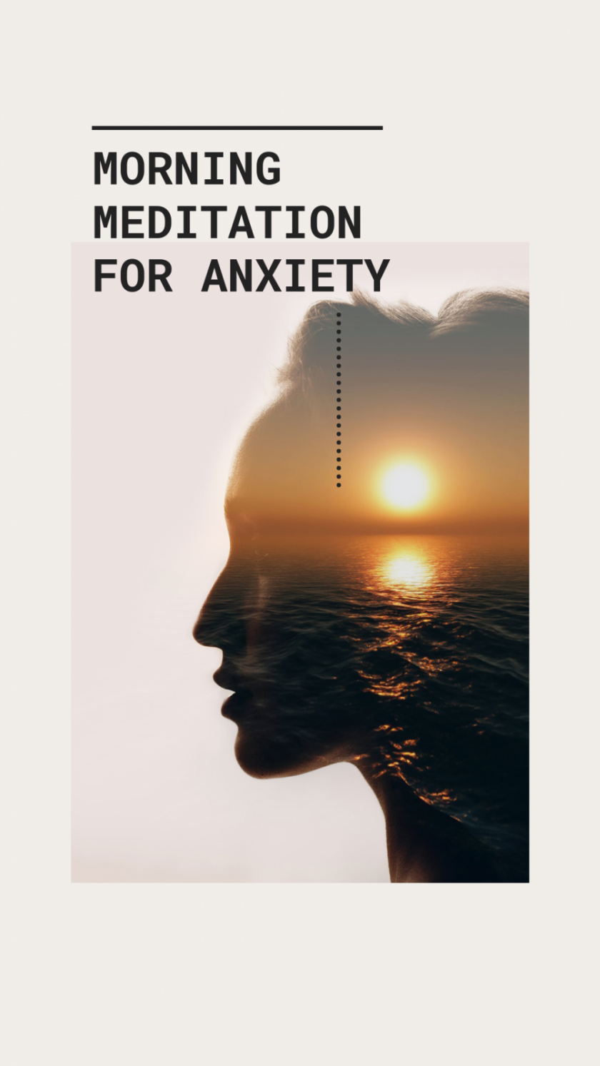 short morning meditation for anxiety currently wearing video