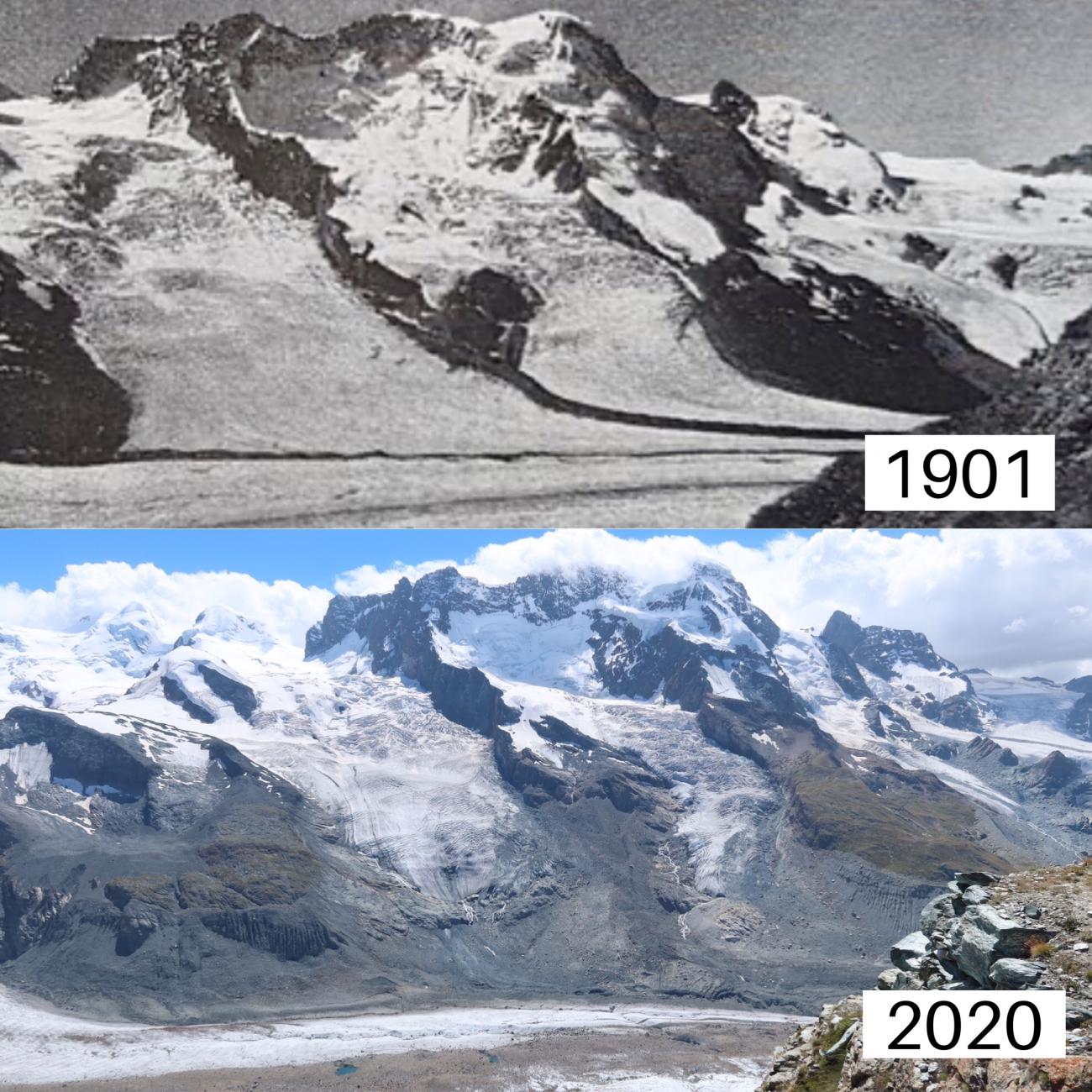 gorner glacier_climate change_global warming_currently wearing