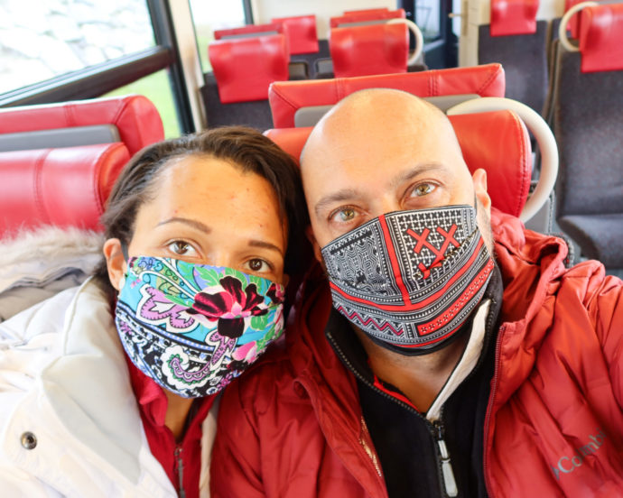 currently wearing-swiss sustainable blog-cloth mask you should buy