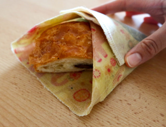how to make zero-waste beeswax wrap-swiss blog-sustainable blog-currently wearing