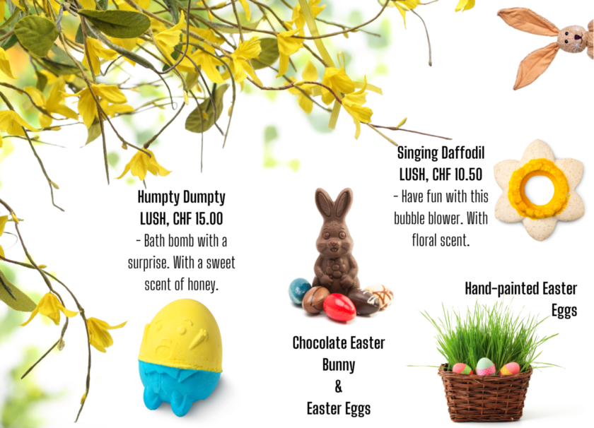 Have Fun and Entertain Kids During Easter -Lush bath bomb-sustainable blog-swiss blog-miriam ramp